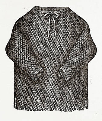 Under Jacket, 19th Century Fashion Art Print