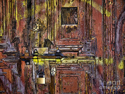 Photograph - Under Lock And Key by Brenda Kean