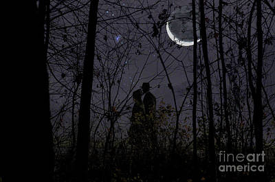 Under The Moon Wall Art - Photograph - Under Moon by David Arment