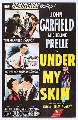 Under My Skin, Us Poster Art, John Art Print by Everett