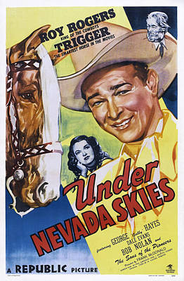 Under Nevada Skies, Us Poster Art Art Print