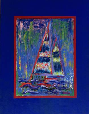 Painting - Under Sail by Karin Eisermann