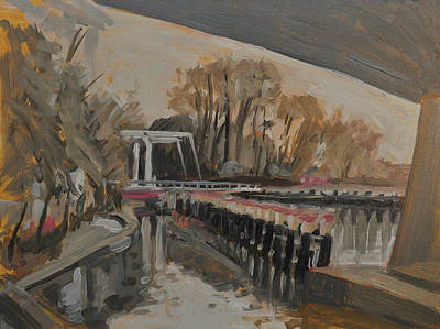 Bridge Painting - Under The A58 by Nop Briex