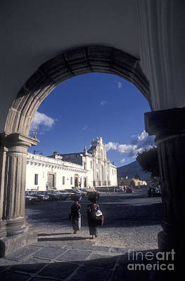 Photograph - Under The Arch Antigua Guatemala by John  Mitchell