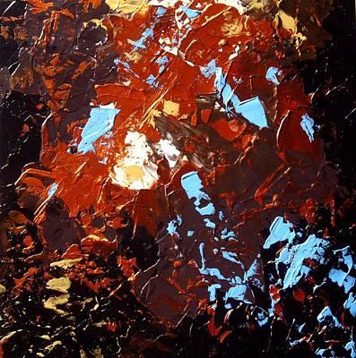 under the autumn sky II Art Print