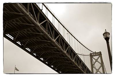 Photograph - Under The Bay Bridge by Michelle Calkins