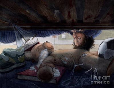 Under The Bed Original by Isabella Kung