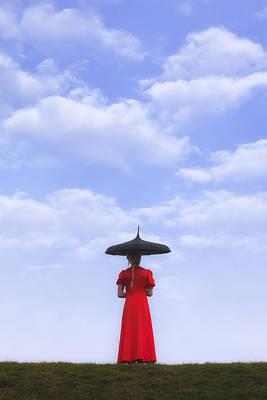 Thoughtful Photograph - Under The Blue Sky by Joana Kruse
