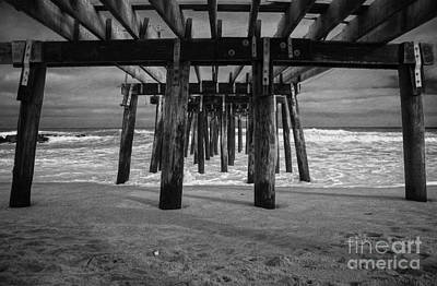 Photograph - Under The Boardwalk by Debra Fedchin