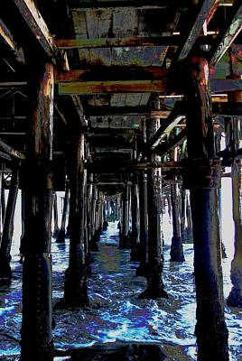 Photograph - Under The Boardwalk by Kimberly Mack
