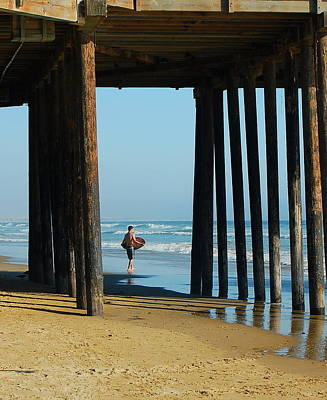 Photograph - Under The Boardwalk by Tamyra Crossley
