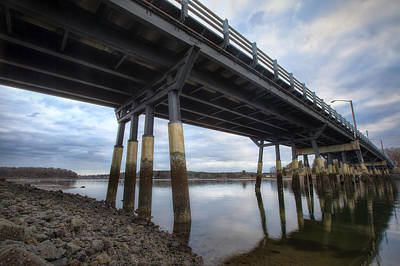 35mm Photograph - Under The Bridge by Eric Gendron