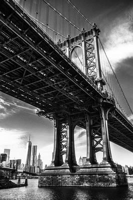 Under The Bridge Art Print by Erik Comstock