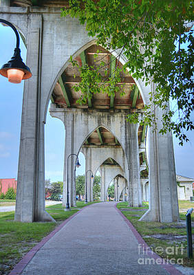 Photograph - Under The Bridge by Kathy Baccari