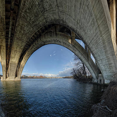 Photograph - Under The Bridge by Metro DC Photography