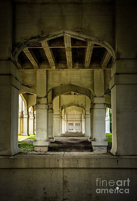 Photograph - Under The Bridge by Ronald Grogan