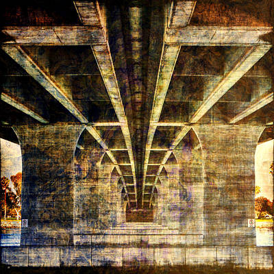 Photograph - Under The Bridge San Diego California by Roger Passman