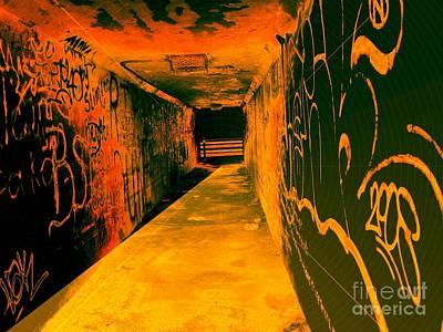 Under The Bridge Art Print by Ze DaLuz