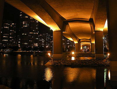 Photograph - Under The Cambie Street Bridge by Brian Chase