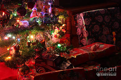 Photograph - Under The Christmas Tree by Derek O'Gorman