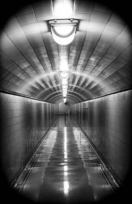 Underground Tour Photograph - Under The Dam by Yousif Hadaya