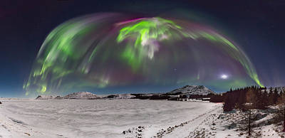 Photograph - Under The Dome by Sigurdur William Brynjarsson