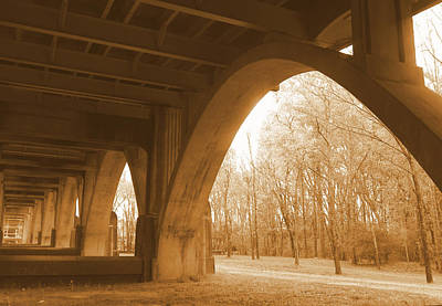 Photograph - Under The Edmund Pettus Bridge by Sheri McLeroy