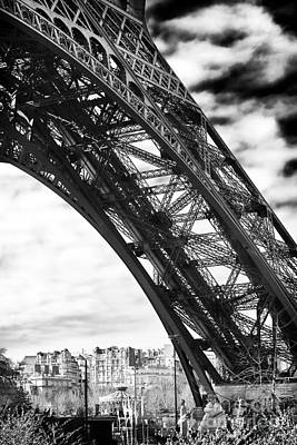 Photograph - Under The Eiffel Tower by John Rizzuto