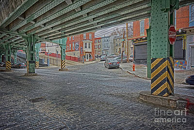 Manayunk Photograph - Under The El Manayunk by Jack Paolini