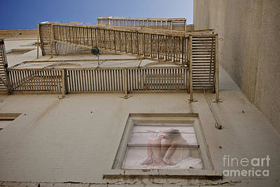 Photograph - Under The Fire Escape by Sherry Davis
