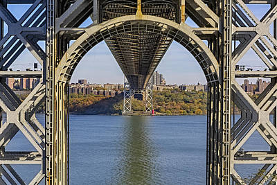 Photograph - Under The George Washington Bridge by Susan Candelario