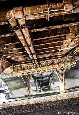 Photograph - Under The Golden Bridge by Stwayne Keubrick