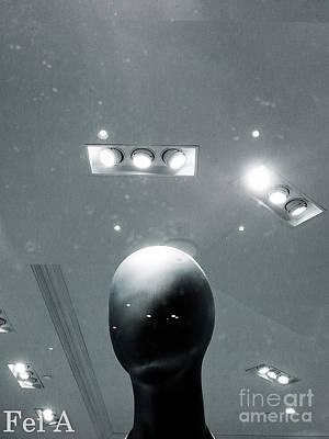 Photograph - Under The Light by Fei Alexander