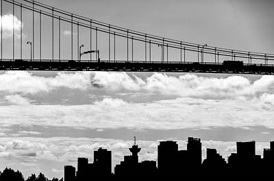 Photograph - Under The Lions Gate Bridge by Ross G Strachan