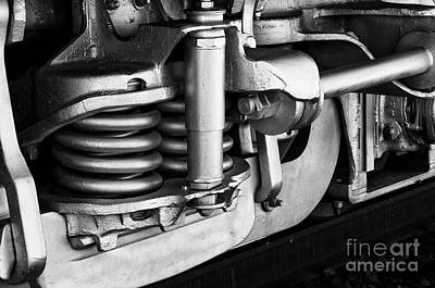Photograph - Under The Locomotive by Vinnie Oakes