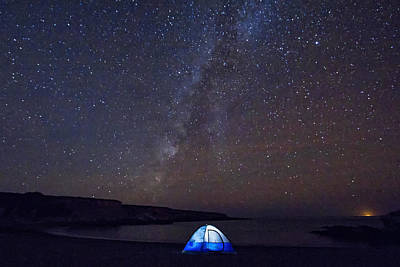 Photograph - Under The Milky Way by Beth Sargent