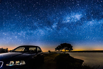 Meteorite Art Photograph - Under The Milky Way I by Marco Oliveira