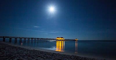 Photograph - Under The Moon Light by Sean Allen