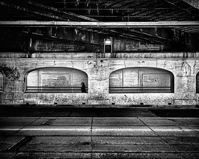 Photograph - Under The Overpass by Brian Carson