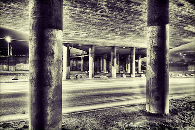 Long Photograph - Under The Overpass by EXparte SE