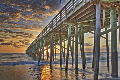 Photograph - Under The Pier by Alice Gipson