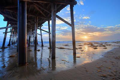 Photograph - Under The Pier by Cliff Wassmann