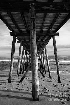 Photograph - Under The Pier by Debra Fedchin