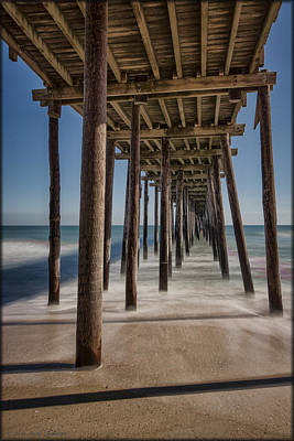 Photograph - Under The Pier by Erika Fawcett