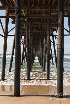 Photograph - Under The Pier In Oceanside by Ana V Ramirez