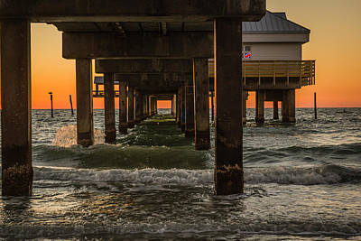 Photograph - Under The Pier by Jane Luxton