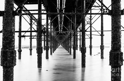 Photograph - Under The Pier by Trevor Chriss