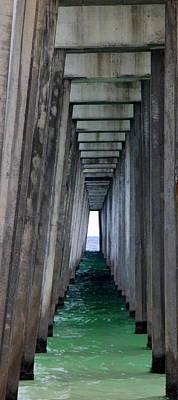Under The Pier Original by William Tucker