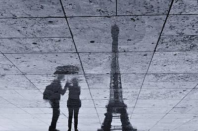 Friendship Photograph - Under The Rain In Paris by