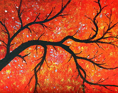 Painting - Under The Red Tree by Thomas Bryant